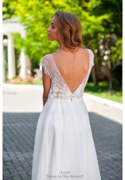 Свадебное платье Грация (нежная пудра)