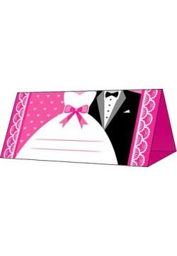 Банкетная карточка 5*9,5см Одежда (без отделки)
