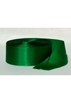 Лента Креп-сатин 5см (зелёный тёмный)