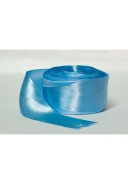 Лента Креп-сатин 5см (голубой)