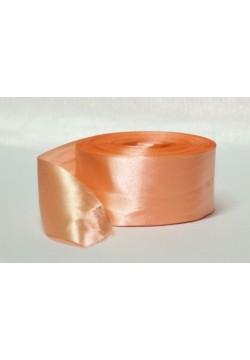 Лента метражом Креп-сатин 5см (персиковый)