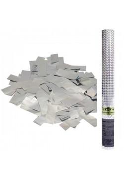 Пневмохлопушка 60см (серебряное конфетти)