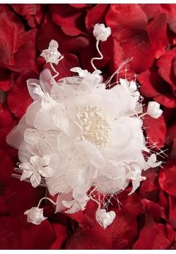Цветок на гребне (айвори)