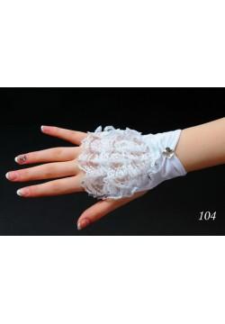 Перчатки Мини (кремовые)
