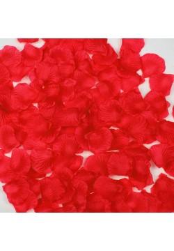 Лепестки роз (150шт) красные