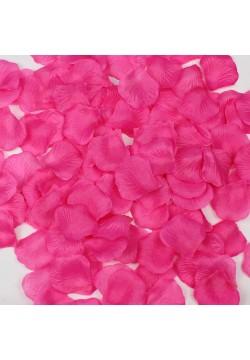 Лепестки роз (150шт) розовые