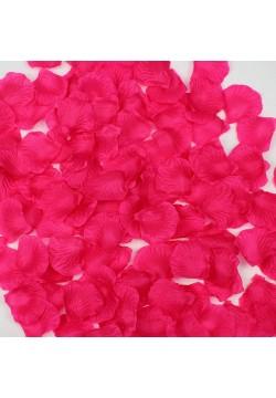 Лепестки роз (150шт) малиновые