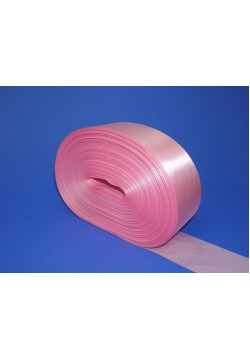 Лента метражом Креп-сатин 5см (розовый)
