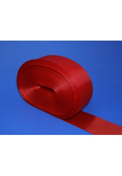 Лента Креп-сатин 5см (красная)