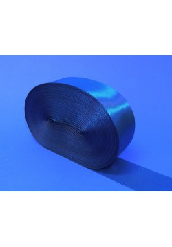 Лента Креп-сатин 5см (синий)