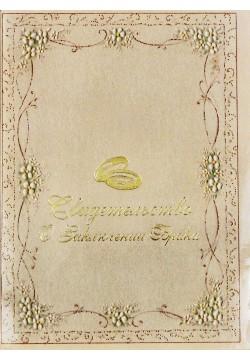 Папка для Свидетельства (ламинат) Орнамент