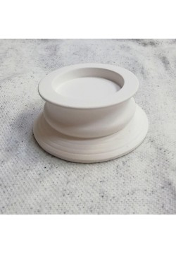 Подсвечник для свечи цилиндра 6 см (гипс)