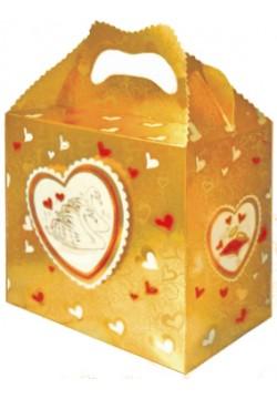 Денежный сундук Свадебный (золотой)