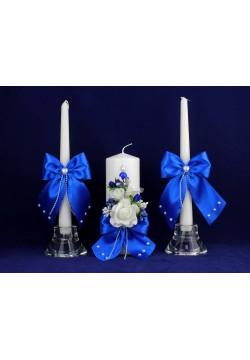 Комплект свадебный №67-2 синий