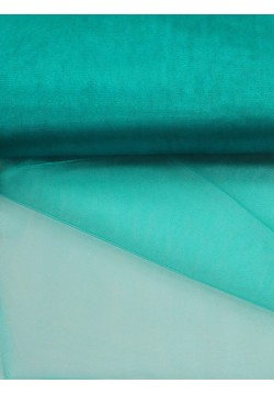 Фатин блестящий 3м бирюзовый (1м/пог)