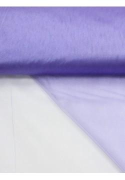 Фатин блестящий 3м сиреневый (1м/пог)