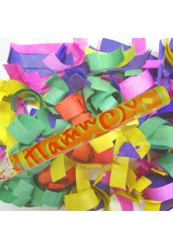 Пневмохлопушка 60см (бумага конфетти)