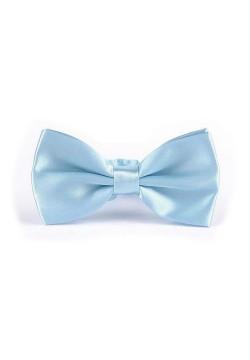 Галстук-бабочка (голубой) 12,5*6,5см