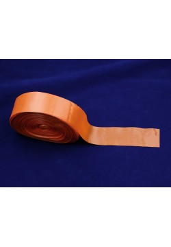 Лента Креп-сатин 5см (оранжевый)