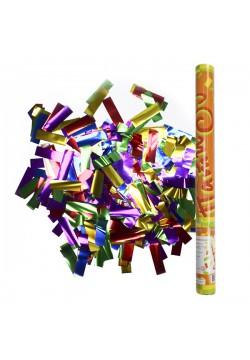 Пневмохлопушка 60см (фольга конфетти)