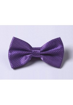 """Галстук-бабочка """"квадрат"""" (фиолетовый) 12*7см"""