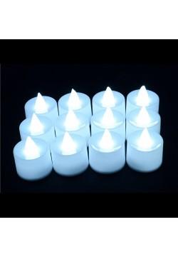 Свеча LED 3,6*4,5см (белый свет)