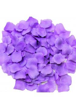 Лепестки роз (300шт) фиолетовые