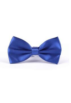 Галстук-бабочка (синий) 12,5*6,5см