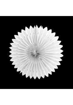 Фант бумажный резной 25см белый