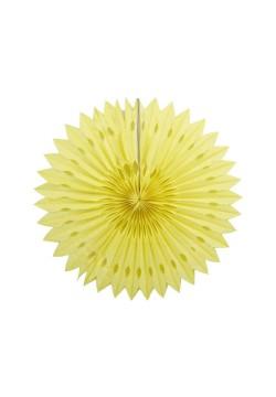 Фант бумажный резной 25см жёлтый светлый
