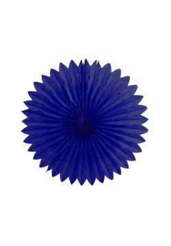 Фант бумажный резной 25см синий тёмный