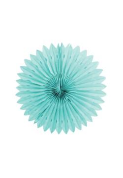 Фант бумажный резной 25см голубой светлый