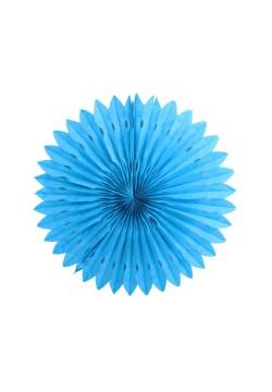 Фант бумажный резной 25см голубой
