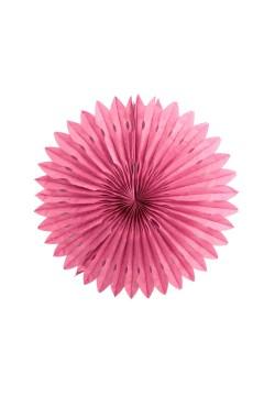 Фант бумажный резной 25см розовый