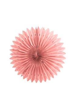 Фант бумажный резной 25см розовый светлый