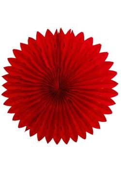 Фант бумажный резной 40см красный