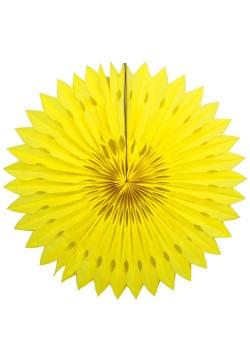 Фант бумажный резной 40см жёлтый