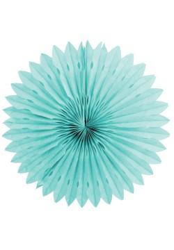 Фант бумажный резной 40см голубой светлый
