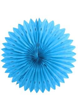 Фант бумажный резной 40см голубой