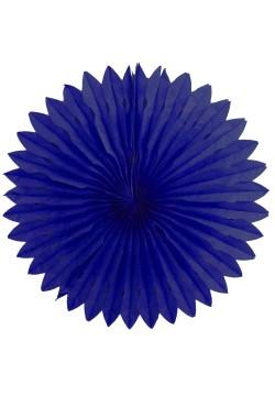 Фант бумажный резной 40см синий тёмный