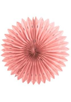 Фант бумажный резной 40см розовый светлый