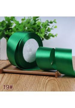 Лента в рулоне Атласная 4см (зелёный) 25ярдов