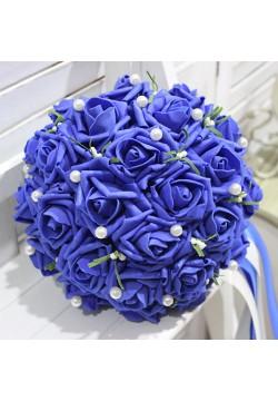 Букет-дублёр Розы латекс 1, (синий)