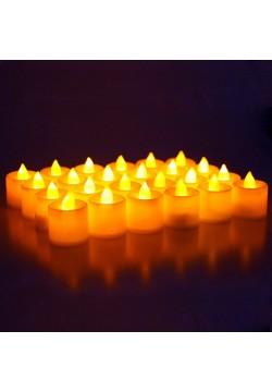 Свеча LED 4,3*3,6см мерцание (жёлтый свет свечи)