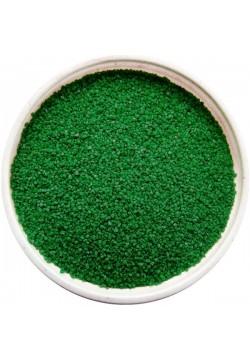 Цветной песок №015 Зеленый тёмный уп.500гр