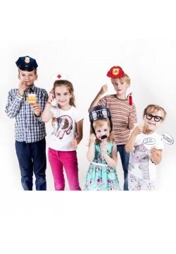 """Набор для детской фотосессии """"Все работы хороши"""" (12шт)"""