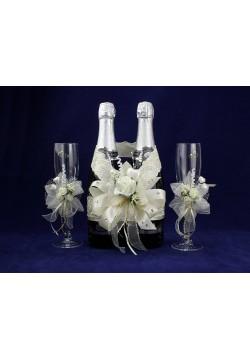 Комплект свадебный №50-4-2 айвори
