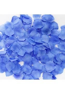 Лепестки роз (300шт) синие