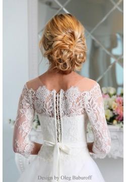 Свадебное платье Скарлетт (пудра)