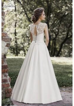 Свадебное платье Дениза (микадо)
